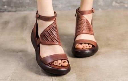 کفش های شیک قهوه ای, کفش و صندل قهوه ای