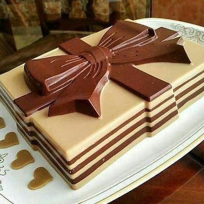 chocolate1 nessafah cream1 طرز تهیه دسر کرم نسکافه شکلات