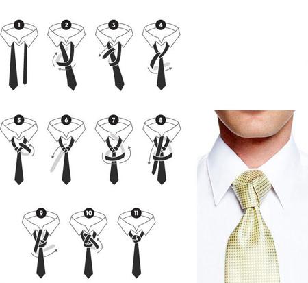 close3 train tie3 آموزش بستن 6 مدل کراوات
