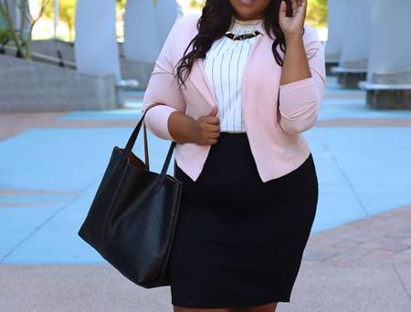 coats1 skirts2 obese5 مدل کت و دامن برای افراد چاق