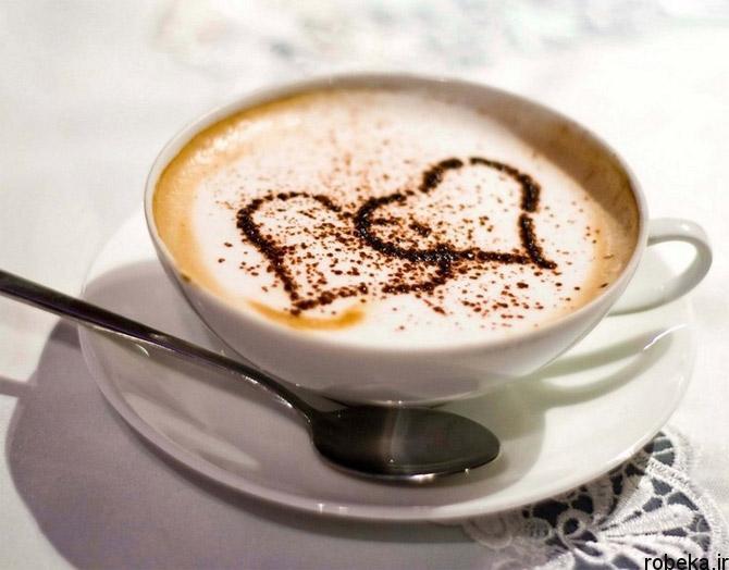 coffee 9 عکس پروفایل فنجان های قهوه تلخ عاشقانه و رمانتیک زیبا