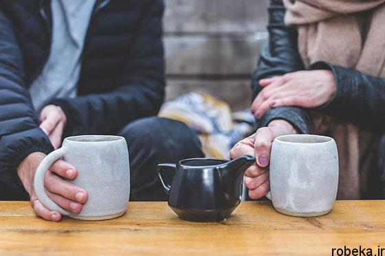 coffee love beautiful cup photos 12 عکس پروفایل فنجان های قهوه تلخ عاشقانه و رمانتیک زیبا