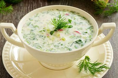 cold1 soup1 طرز تهیه سوپ سرد