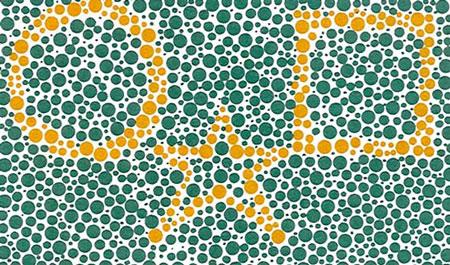 colorblind test2 2 تست کور رنگی جالب برای تشخیص کور رنگی