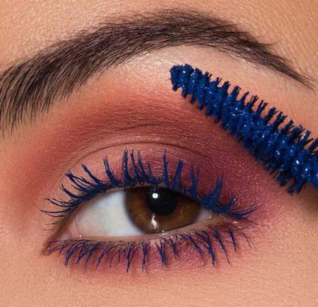 colored mascara use 2 ریمل رنگی چیست و چگونه استفاده می شود؟