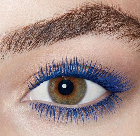 colored mascara use 5 ریمل رنگی چیست و چگونه استفاده می شود؟