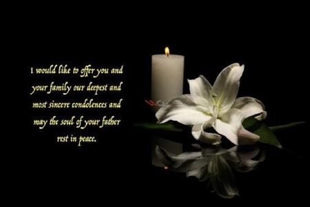 condolence message02 1 متن پیام تسلیت به انگلیسی