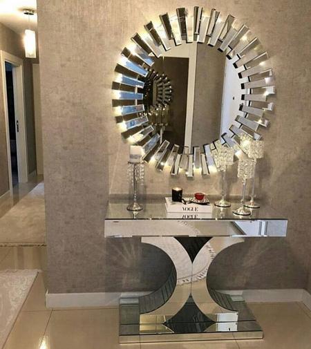 طراحی میز و آینه کنسول, جدیدترین طراحی آینه کنسول