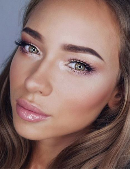 آرایش لایت صورت,آرایش لایت صورت برای تابستان,زیرسازی آرایش لایت و تابستانه