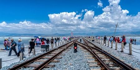 %name آشنایی با دریاچه نمک چاکا ،زیباترین دریاچه در چین