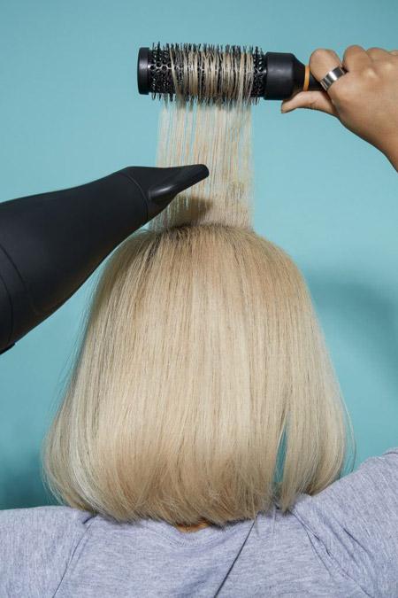 %name آموزش براشینگ موهای کوتاه