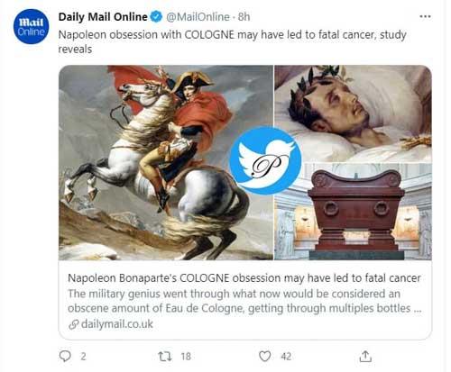ناپلئون بناپارت,اخبارگوناگون,خبرهای گوناگون