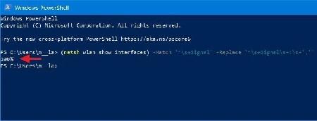 %name انواع روشهای مشاهده قدرت سیگنال وای فای در ویندوز 10