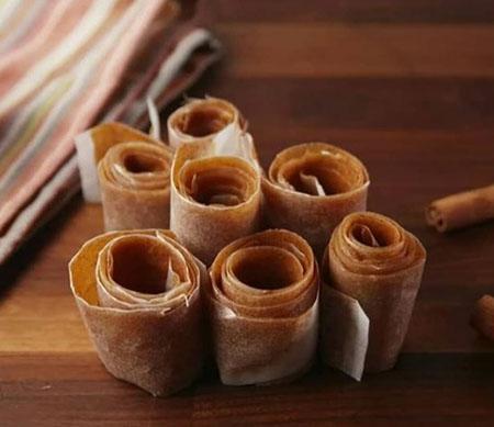 %name انواع طرز تهیه لواشک سیب با طعم های مختلف