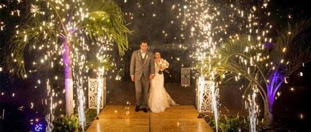%name ایده های جالب برای آتش بازی برای عروس و داماد