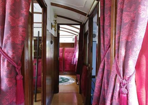 %name تبدیل قطار جامانده از قرن نوزده به هتلی زیبا
