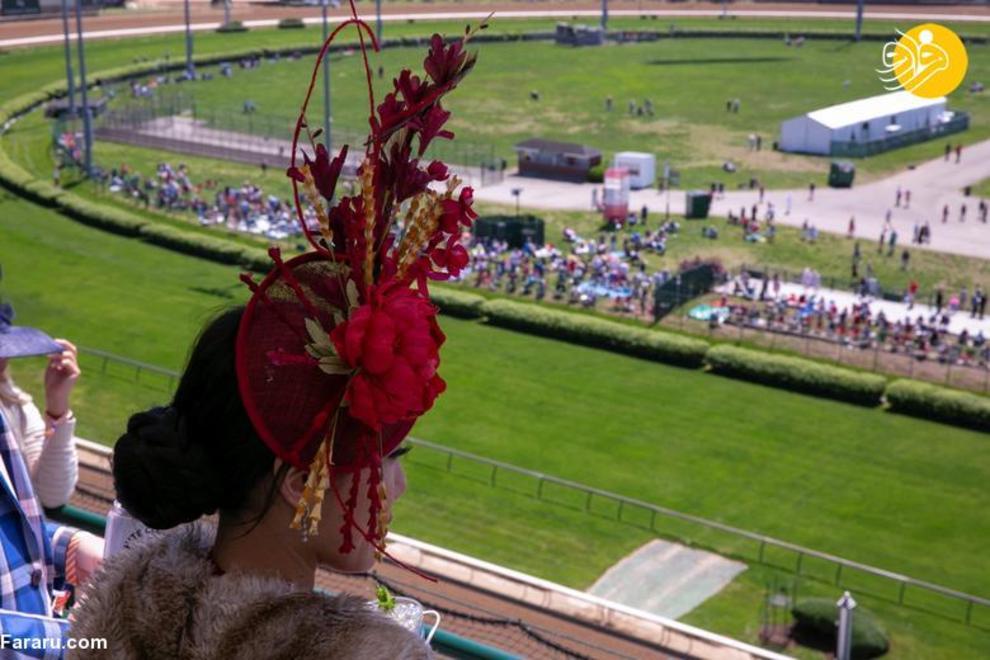 %name (تصاویر) حاشیههایی از مسابقه اسب دوانی کنتاکی دربی ۲۰۲۱