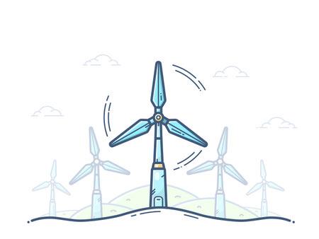 %name توربین بادی چیست؟ روش کار و تولید برق در توربین بادی