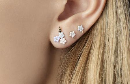 مدل گوشواره های پرنگین, زیباترین طلا و جواهرات