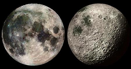 تحقیق در مورد ماه,کره ماه از نزدیک