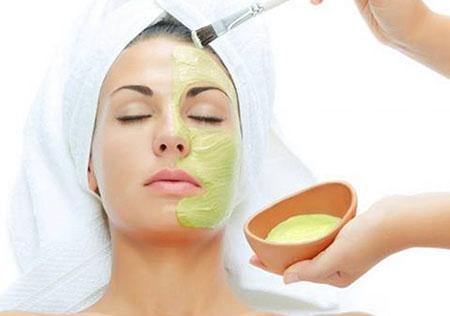 روش های استفاده از ژل آلوئه ورا برای پوست, منع مصرف ژل آلوئه ورا, ماسک صورت آلوئه ورا