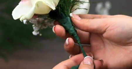 %name درست کردن دسته گل کوچک