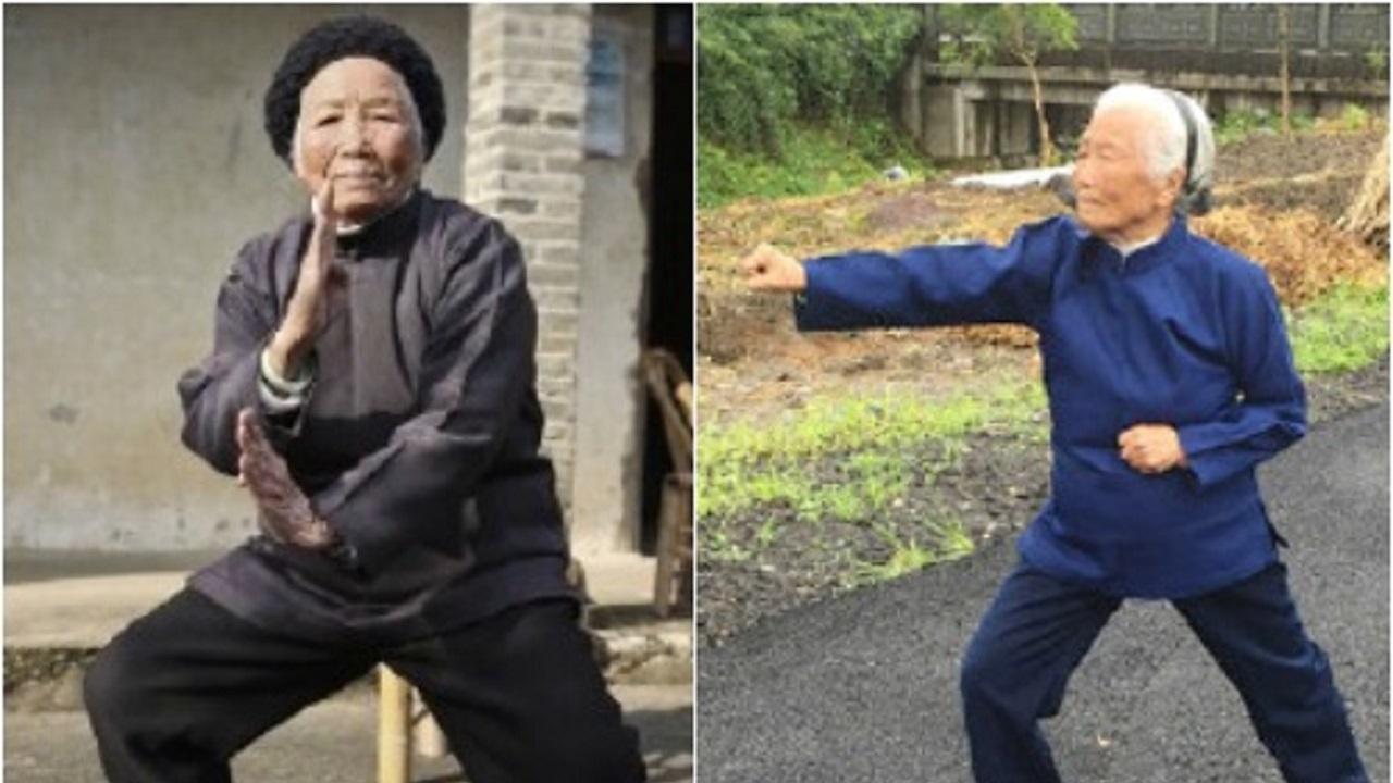 %name زن ۹۸ ساله چینی که استاد کونگ فو است!