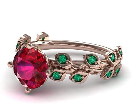 مدل های انگشتر های سنگ دار,مدل های انگشترهای شیک زنانه,جدیدترین مدل های انگشتر یاقوت زنانه