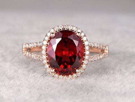 انگشتر با سنگ یاقوت,انگشترهای یاقوت شیک زنانه,مدل انگشتر یاقوت زنانه