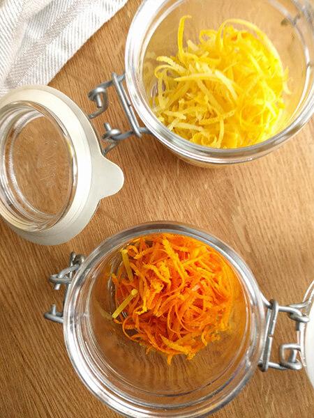 خلال پوست پرتقال,طرز تهیه خلال پوست پرتقال