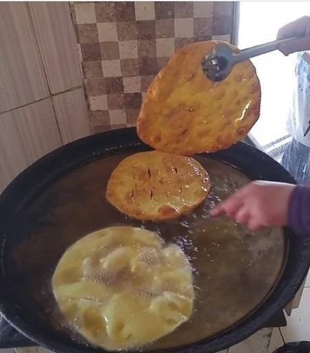 طرز تهیه اردک نان سنتی همدان, طرز تهیه نان اردک بدون خمیر مایه, طرز تهیه نان اردک