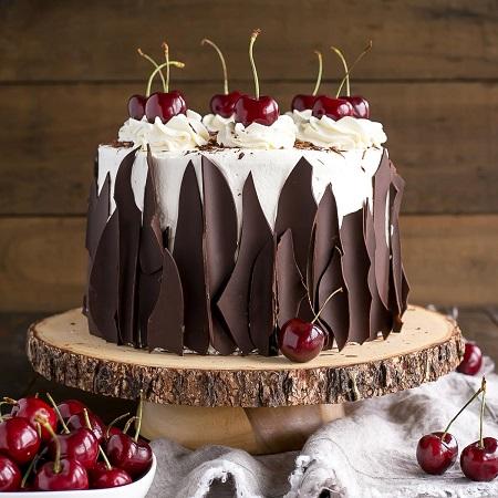 دستور کیک جنگل سیاه, دارک کیک, دستور پخت کیک جنگل سیاه