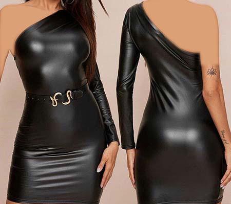 مدل لباس مجلسی چرم شیک, عکس های زیبا از مدل لباس مجلسی چرم