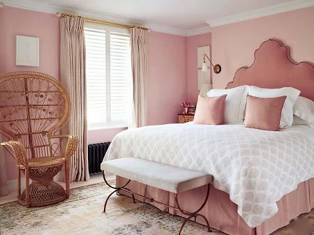 مدل های دکوراسیون اتاق خواب صورتی, دکوراسیون اتاق خواب صورتی, رنگ اتاق خواب دخترانه صورتی