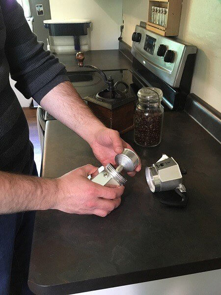 %name نحوه استفاده از موکاپ برای تهیه قهوه ( آموزش تصویری)