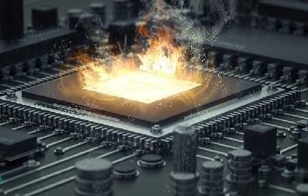 %name نشانه ، علت و راه حل داغ شدن CPU در ویندوز ۱۰