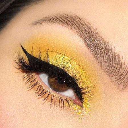 %name نکات مهمی که برای آرایش چشم عسلی باید بدانید