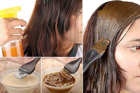 %name هایلایت مو با مواد طبیعی و بدون دکلره