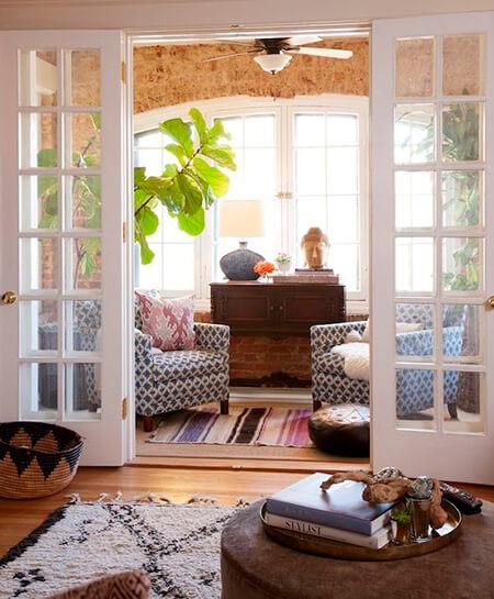 ایده هایی برای نشیمن زیر پنجره, دکوراسیون و چیدمان نشیمن کنار پنجره, فضای نشیمن خانه
