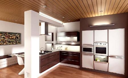 decoration kitchen1 دکوراسیون کابینت آشپزخانه