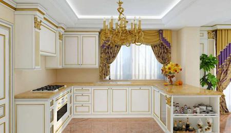 decoration kitchen2 دکوراسیون کابینت آشپزخانه