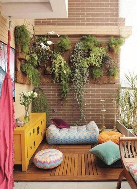 decoration2 balcony14 ایده هایی برای تزیین بالکن