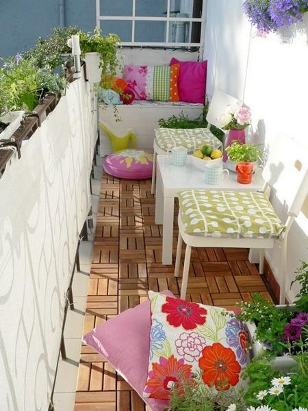 decoration2 balcony15 ایده هایی برای تزیین بالکن