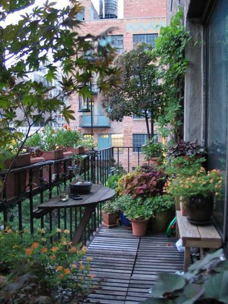 decoration2 balcony17 ایده هایی برای تزیین بالکن