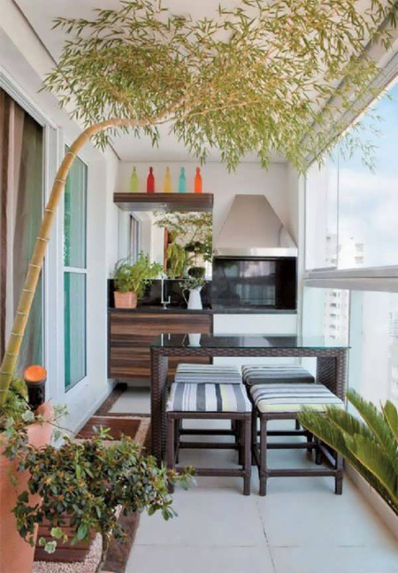 decoration2 balcony21 ایده هایی برای تزیین بالکن