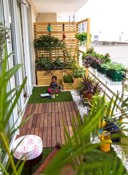 decoration2 balcony22 ایده هایی برای تزیین بالکن
