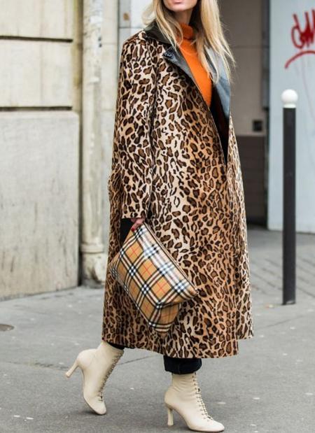مهارت های انتخاب لباس گرم پاییزی, انتخاب لباس با طرح پوست حیوان