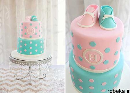 determination1 cake3 مدل کیک تعیین جنسیت جنین