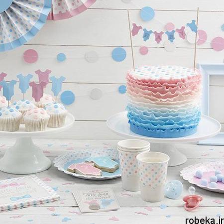 determination1 cake4 مدل کیک تعیین جنسیت جنین