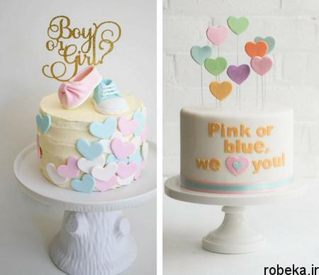 determination1 cake6 مدل کیک تعیین جنسیت جنین